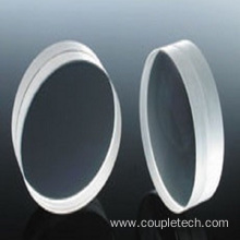Doublet, tripart and assembled lens for achromatic design
